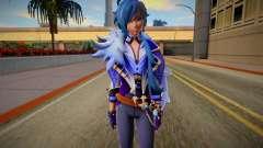 Kaeya From Genshin Impact para GTA San Andreas