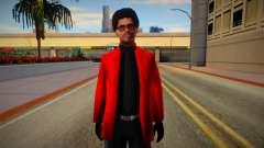 The Weeknd Skin para GTA San Andreas