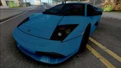Lamborghini Murcielago LP640 Blue
