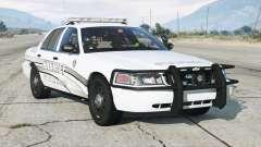 Ford Crown Victoria P71 Interceptor de policía 2011〡Sheriff K-9 Unidad [ELS] 〡blue &blue & luces de emergencia azules para GTA 5
