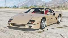Ferrari F40 1989〡add-on para GTA 5