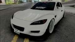 Mazda RX-8 Gang Lords para GTA San Andreas