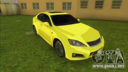 Lexus IS-F (good car) para GTA Vice City