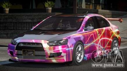 Mitsubishi Lancer X GST-R PJ3 para GTA 4