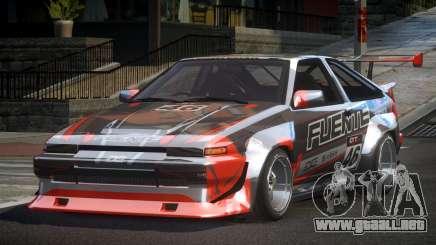 1983 Toyota AE86 GS Racing L1 para GTA 4