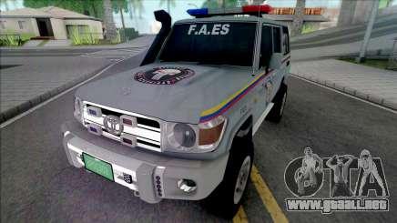 Toyota Land Cruiser FJ76 F.A.ES CPNB para GTA San Andreas