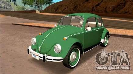 Volkswagen Beetle (Fuscao) 1500 1974 - Brasil para GTA San Andreas