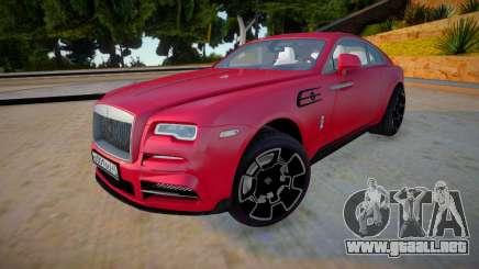 Rolls-Royce Wraith 2019 para GTA San Andreas
