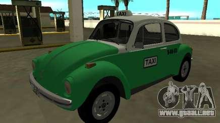Volkswagen Beetle 1994 Taxi desde México para GTA San Andreas