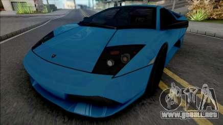 Lamborghini Murcielago LP640 Blue para GTA San Andreas