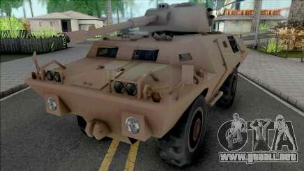 HVY LAV-510 SA Style para GTA San Andreas