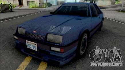 GTA IV Vapid Uranus para GTA San Andreas