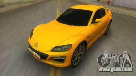 Mazda RX-8 Asphalt 8 2011 para GTA Vice City