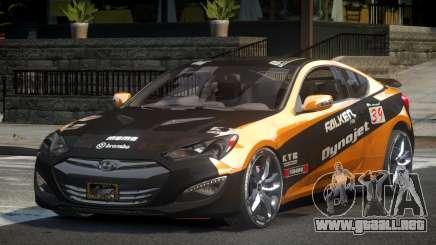 Hyundai Genesis GST Drift L5 para GTA 4