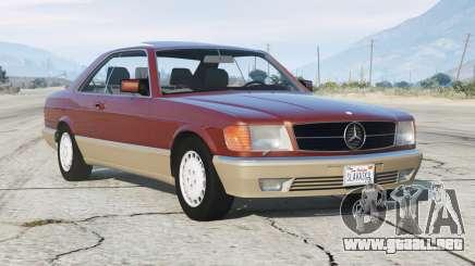 Mercedes-Benz 560 SEC (C126) 1986〡add-on v1.1 para GTA 5