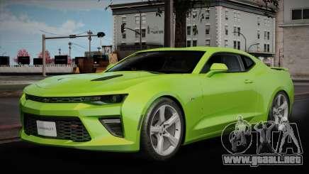 Chevrolet Camaro 2016 para GTA San Andreas