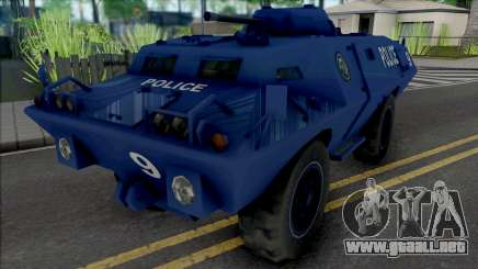 Improved S.W.A.T. Van para GTA San Andreas