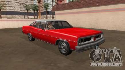 Regina Dundreary Sedan mi versión para GTA San Andreas