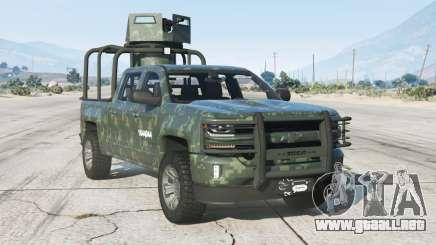 Chevrolet Cheyenne Armored Crew Cab 2017〡add-on v1.1 para GTA 5