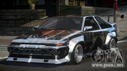 1983 Toyota AE86 GS Racing L2 para GTA 4