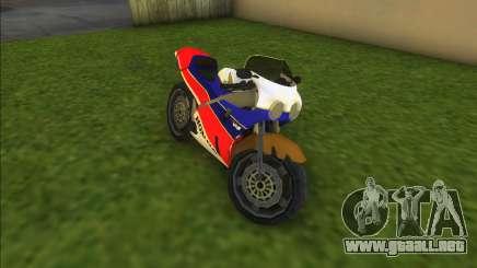 Honda VFR 750R Bike para GTA Vice City