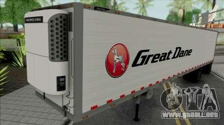 Remolque Thermo King Spread Axle para GTA San Andreas