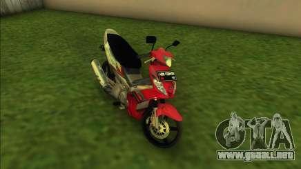 Yamaha Jupiter MX para GTA Vice City