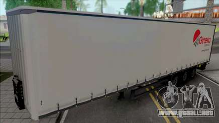 Trailer Girteka Logistics para GTA San Andreas