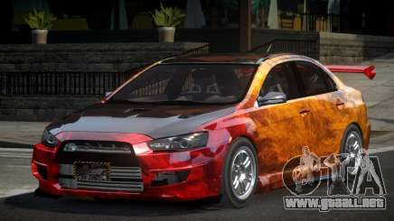 Mitsubishi Lancer X GST-R PJ4 para GTA 4