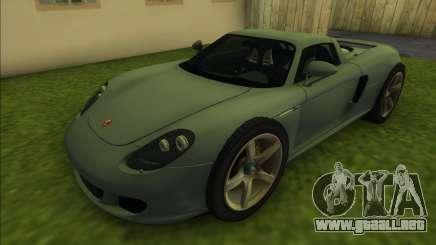 Porsche Carrera GT (Targa) para GTA Vice City