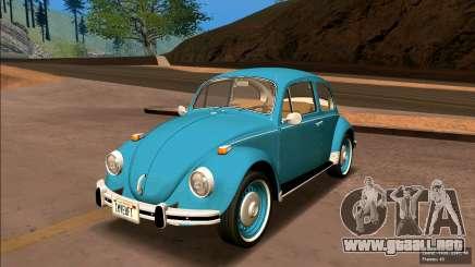 Volkswagen Beetle (Beetle) 1300 1974 - Brasil para GTA San Andreas