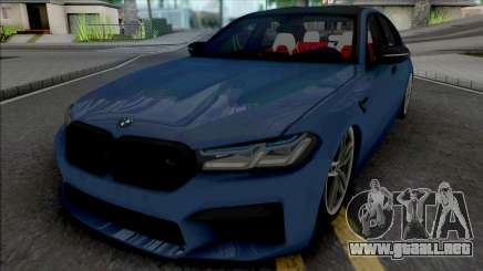 BMW M5 2021 Quantum Works para GTA San Andreas