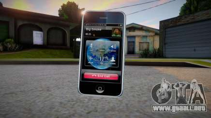 iPhone 3G para GTA San Andreas