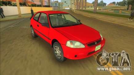 Honda Civic CX para GTA Vice City