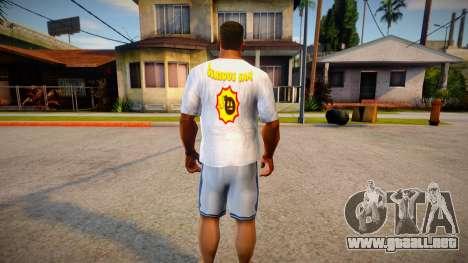 New T-shirt (good textures) para GTA San Andreas
