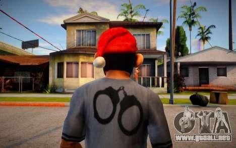 Free Fire Monkey Mask For Cj para GTA San Andreas
