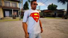 T-shirt Superman (good textures) para GTA San Andreas