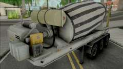 Cement Mixer Trailer