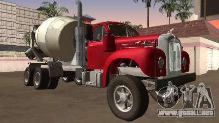 Cemento Mack B-61 1953 para GTA San Andreas