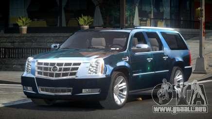 Cadillac Escalade US S8 para GTA 4