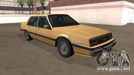 Chevrolet Celebrity 1984 Año para GTA San Andreas