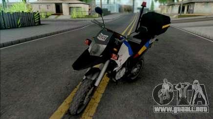 Honda XRE 300 2015 Police MG para GTA San Andreas