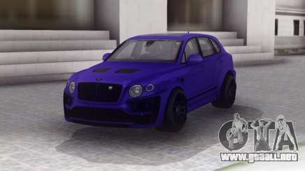 Bentley Bentayga Lumma para GTA San Andreas