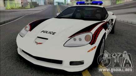 Chevrolet Corvette Z06 Bosnian Police Livery para GTA San Andreas