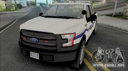 Ford F-150 201 Dillimore Blueberry Police para GTA San Andreas