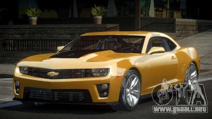 Chevrolet Camaro ZL1 SP V1.0 para GTA 4