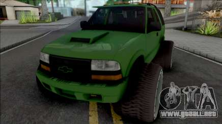Chevrolet Blazer Lifted para GTA San Andreas