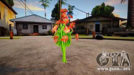 New bouquet para GTA San Andreas