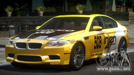BMW M5 F10 PSI-R S10 para GTA 4