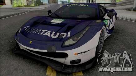 Ferrari 488 GTE para GTA San Andreas